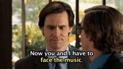 'Face the music'…영화 '예스 맨' 중에서