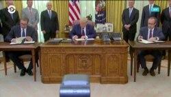 Политологи в США комментируют соглашение между Сербией и Косово