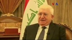 Irak Cumhurbaşkanı: 'IŞİD'le Mücadele Zor'