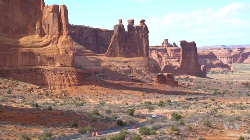 Arches National Park in Utah Attracts More Than a Million Visitors a Year