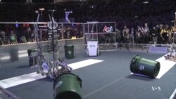 High School Students Compete in Robot Building