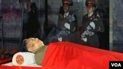 Los analistas esperan que la ceremonia sea similar a la del desaparecido padre de Kim Jong Il, el fundador de Corea del Norte, Kim Il Sung.