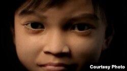Un grupo defensor de los derechos infantiles creó esta niña virtual, Sweetie, para atrapar a abusadores sexuales en la red.