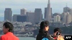 Du khách Trung Quốc thăm bang San Francisco, Hoa Kỳ
