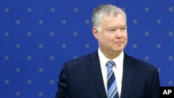 스티븐 비건 미국 국무부 대북정책특별대표.