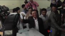 2017-09-04 美國之音視頻新聞: 柬埔寨以叛國罪逮捕反對黨領袖 (粵語)