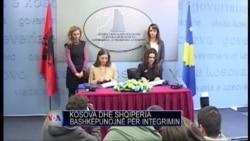 Shqipëri Kosovë bashkëpunim për integrimin
