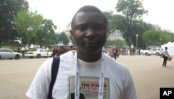 Tabin Tangila de l'ONG Amo Congo (25 juillet 2012)