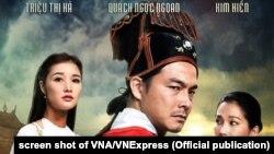 Áp phích phim Mỹ Nhân của Việt Nam được chiếu trong tuần phim APEC ở Đà Nẵng, Việt Nam, 11-17/11