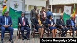 Acting Chief Justice Elizabeth Gwaunza Swearing In Ceremony