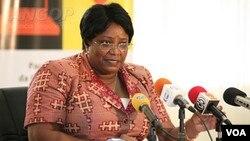 Angola Cabinda governor Aldina da Lomba