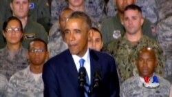 """AQSh Iroqqa qo'shin kiritmaydi lekin """"Islomiy davlat"""" nishonda - Obama/US Military"""