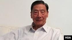 北京天則經濟研究所創辦人之一、中國經濟學家茅于軾在北京接受採訪 (美國之音2011年7月13日資料照)