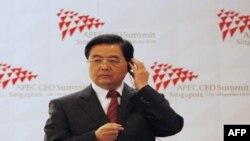 Президент КНР Ху Цзіньтао