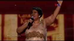 Aretha Franklin faz Presidente Obama chorar