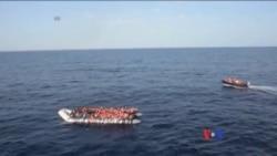 到達意大利的北非移民人數激增