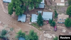 Le Nord du Colorado sous les eaux