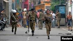 دھماکوں کے دو روز بعد بھی دارالحکومت کولمبو میں صورتِ حال تاحال معمول پر نہیں آئی ہے۔