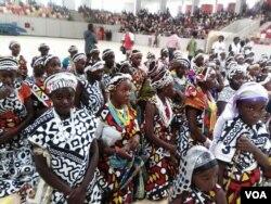 Festa da puberdade no Namibe