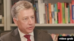 """U.S. Special Representative for Ukraine Kurt Volker tells VOA's Ukraine service that Russia needs to release the Ukrainian sailors taken captive in the Kerch Strait in late November by Christmas or """"before the new year."""""""