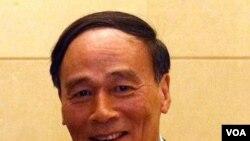 Wakil Perdana Menteri Tiongkok Wang Qishan (foto: dok).