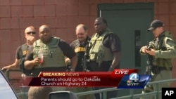 El muchacho hirió a dos estudiantes y una profesora el miércoles por la tarde en los campos exteriores de la escuela primaria Townville.