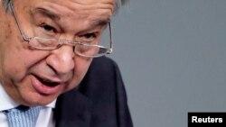 El secretario general de Naciones Unidas, Antonio Guterres, dijo que es absolutamente inaceptable que los militares birmanos anulen el resultado de las elecciones y la voluntad del pueblo.