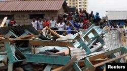Tragédia em Nairóbi manda 57 para o hospital