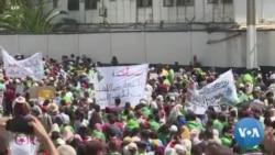 Algérie: nouvelle manifestation d'étudiants contre l'élection présidentielle