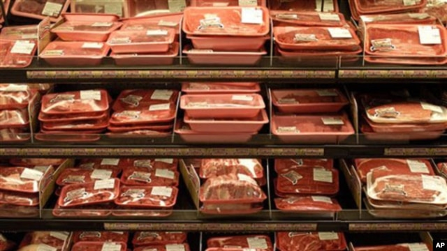 The demand for meat products is rising sharply in developing nations as their economies improve.