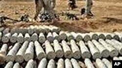 کشف هزاران سرگلوله بمب های نیپال ساخت در شمال کابل