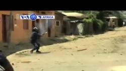 VOA60 AFIRKA: An BArke Da Zanga Zanga A Bangui Afirka Ta Tsakiya, Mayu 12, 2015