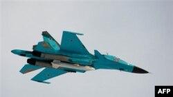 Реактивный истребитель Су-34