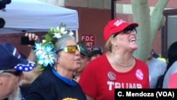 Trump Supporters, Protesters Face Off in Phoenix