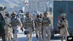 نیرو های امنیتی افغان