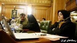 فاطمه دانشور و معصومه آباد، دو عضو دوره چهارم شورای شهر تهران