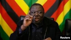Zimbabwe Prime Minister Morgan Tsvangirai
