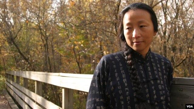 Poet Wang Ping