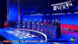 聚焦民主党总统参选人星期三再度辩论