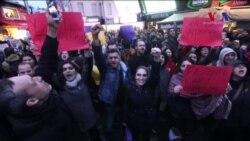 İstanbul'da Referandumun Sonucu Protesto Edildi
