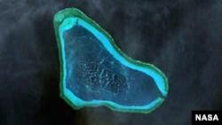 南中国海有争议岛屿—黄岩岛