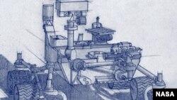 Artist's Concept of Mars 2020 Rover (NASA/JPL-Caltech )