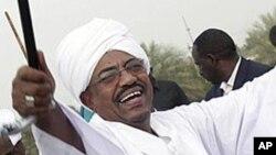 Le président Omar el-Béchir, 9 juillet 2012.