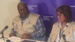 Election Observers Assessing Political Situation in Zimbabwe