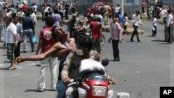 یمن: سرکاری فورسز اور حکومت مخالفین کی جھڑپوں میں چھ افراد ہلاک