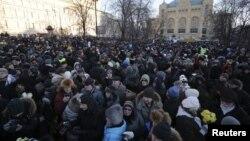 Акция оппозиции. Москва, 15 декабря 2012г.