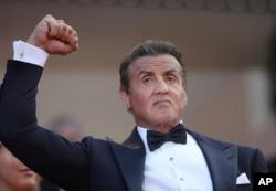 Amerikalı oyuncu Sylvester Stallone, oldukça alkış alanlardan biriydi