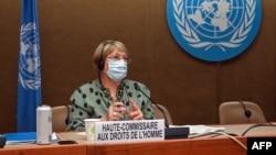 Cao ủy Nhân quyền LHQ Michelle Bachelet.