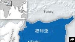 叙利亚的地理位置