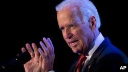 El vicepresidente Joe Biden fue el orador principal en la reunión de la Cámara de Comercio Hispana de EE.UU.